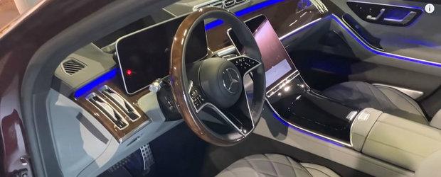 Este clar limuzina momentului. VIDEO in detaliu cu noul Mercedes S-Class