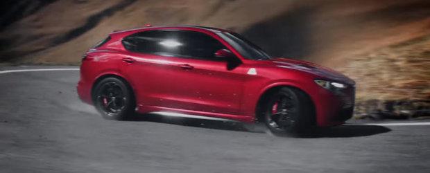 Este cu siguranta unul dintre cele mai frumoase SUV-uri ale momentului. Alfa Romeo Stelvio in primul video oficial