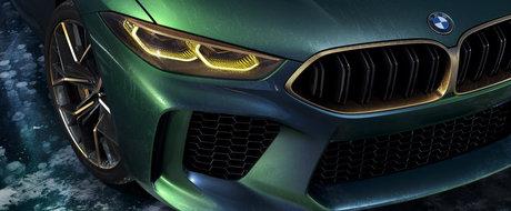 Este de-a dreptul superb. Noul M8 Gran Coupe Concept de la BMW anunta un rival de temut pentru Panamera