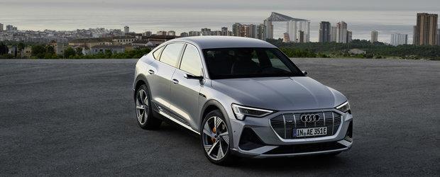 Este doar o chestiune de timp pana sa-l vezi pe strazi. Cat costa in ROMANIA noul e-tron Sportback de la Audi