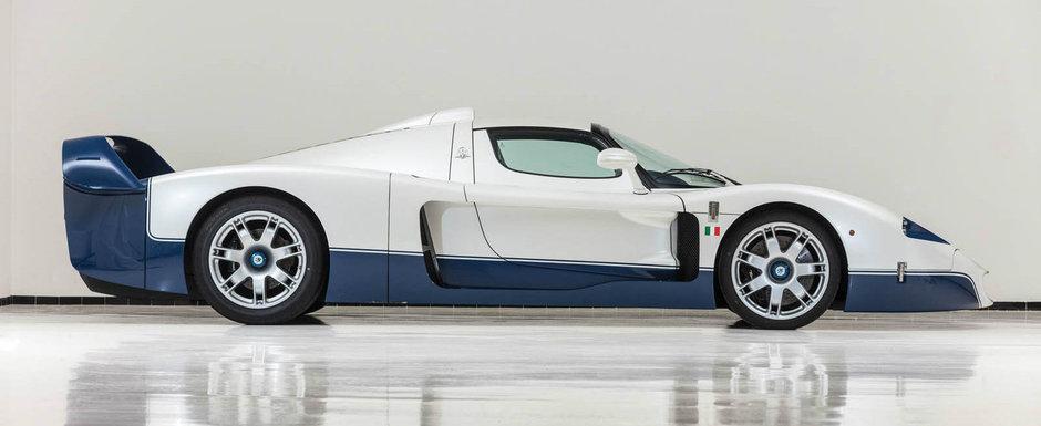 Este fara indoiala cea mai extrema masina construita de Maserati. Cu cat se da azi acest MC12