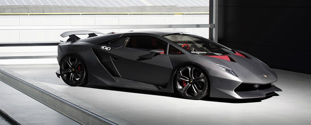 Este fructul interzis al celor de la Lamborghini, iar acum se vinde pentru atat