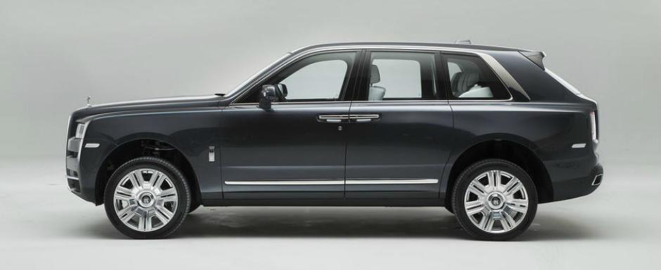 Este momentul adevarului. Uite cum arata in realitate noul Rolls-Royce Cullinan