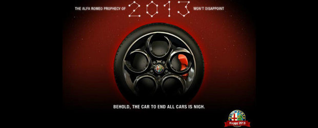 Este oficial. Alfa Romeo 4C vine in 2013!