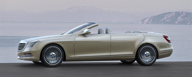 Este oficial. Mercedes anunta lansarea primului S-Class Convertible dupa 40 ani