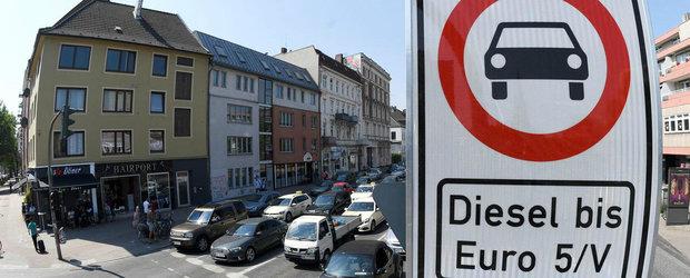 Este OFICIAL. Orasul natal al MERCEDES si PORSCHE interzice masinile diesel vechi, inclusiv EURO 4