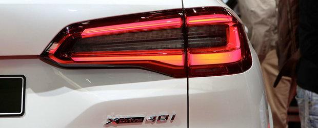 "Este prima data cand il expun ""in carne si oase"". Noul BMW X5 a atras toate privirile la Paris, inclusiv ale rivalilor"