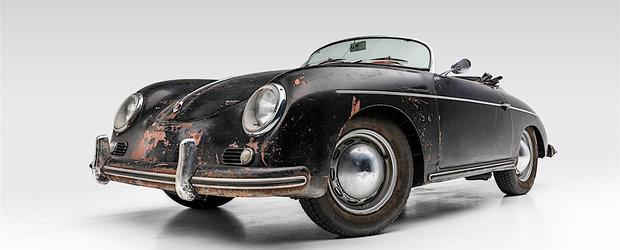 Este prima masina de serie de la Porsche. Un exemplar nerestaurat se vinde acum cu o avere