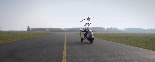 Este prima masina zburatoare de serie, iar acum poate fi comandata