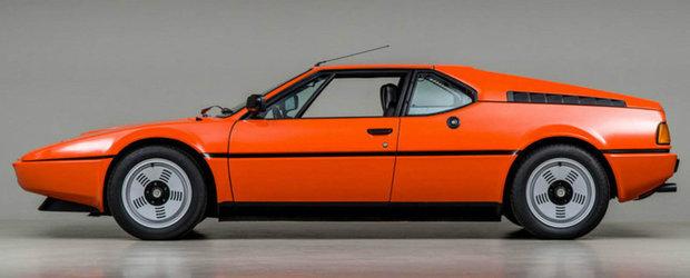Este primul M din istorie iar Lamborghini a ajutat la dezvoltarea lui. Cu cat se da azi acest BMW M1