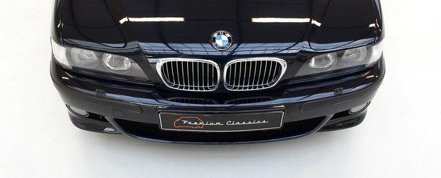 Este primul model V8 lansat de divizia M. Cu cat se vinde azi acest BMW celebru