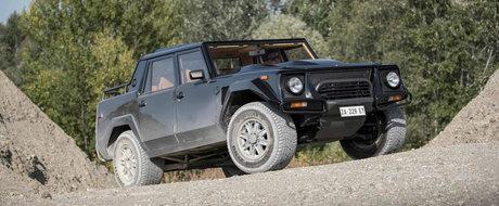 Este primul SUV din istoria Lamborghini. Italienii il folosesc acum pentru a reconfirma lansarea lui Urus