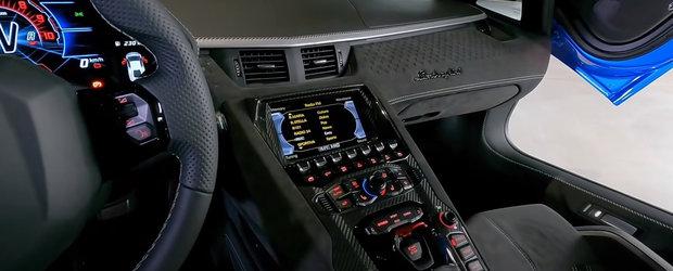 Este sfarsitul unei ere. Lamborghini prezinta oficial ultima sa masina cu motor V12 aspirat. Cum arata in realitate