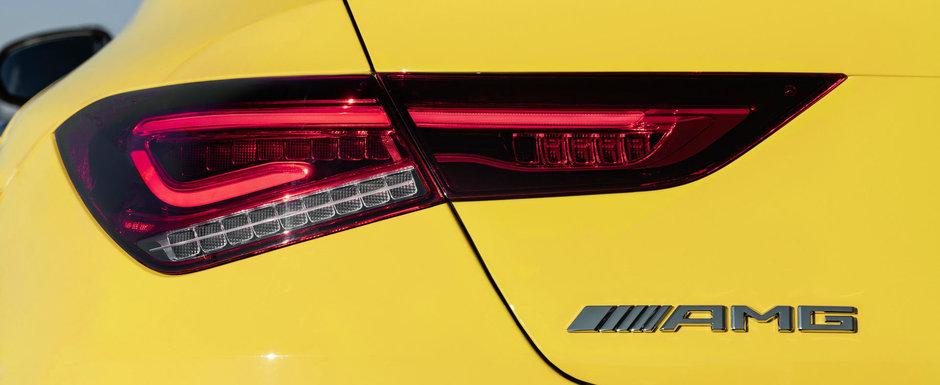 Este singurul hot coupe compact cu patru usi premium din lume. Noua masina de la MERCEDES are 306 CP