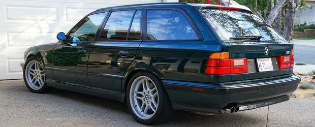 Este ultimul model construit manual de divizia M de la BMW. Cu cat se vinde acum un M5 E34 Touring