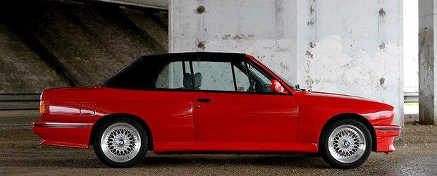Este un BMW M3 E30. Unul Cabriolet si... de vanzare. Pretul bijuteriei bavareze.