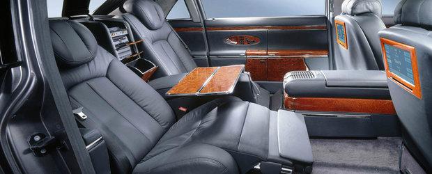 Este una dintre cele mai opulente limuzine ale secolului 21. Cu cat se vinde azi acest Maybach 62