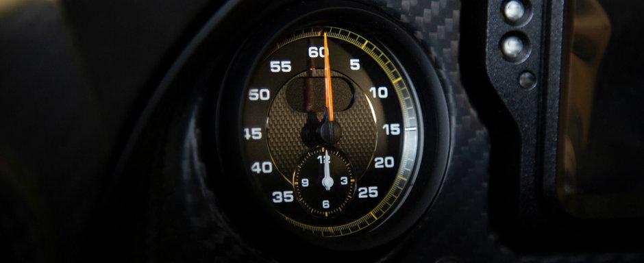 Este unul dintre cele mai extreme modele de la Porsche. El l-a primit in februarie dar acum il vinde cu 0 km la bord