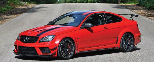 Este unul dintre cele mai tari Mercedes-uri, iar acum poate fi al tau. Uite pentru ce suma se da acest C63 AMG Black Series