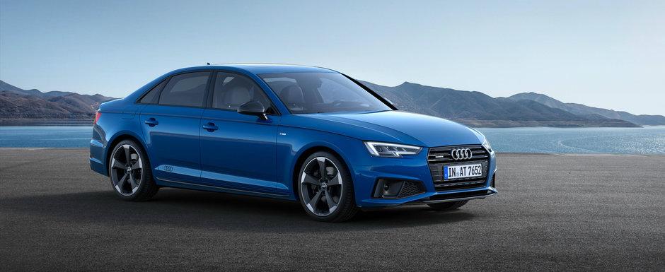 Este vedeta incontestabila a nemtilor de la Audi. A4 implineste un sfert de secol si peste 7.5 milioane produse