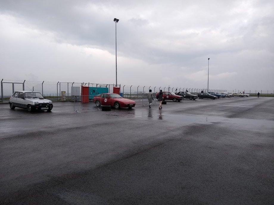 Etapa a 5-a Romanian Retro Racing la TMR