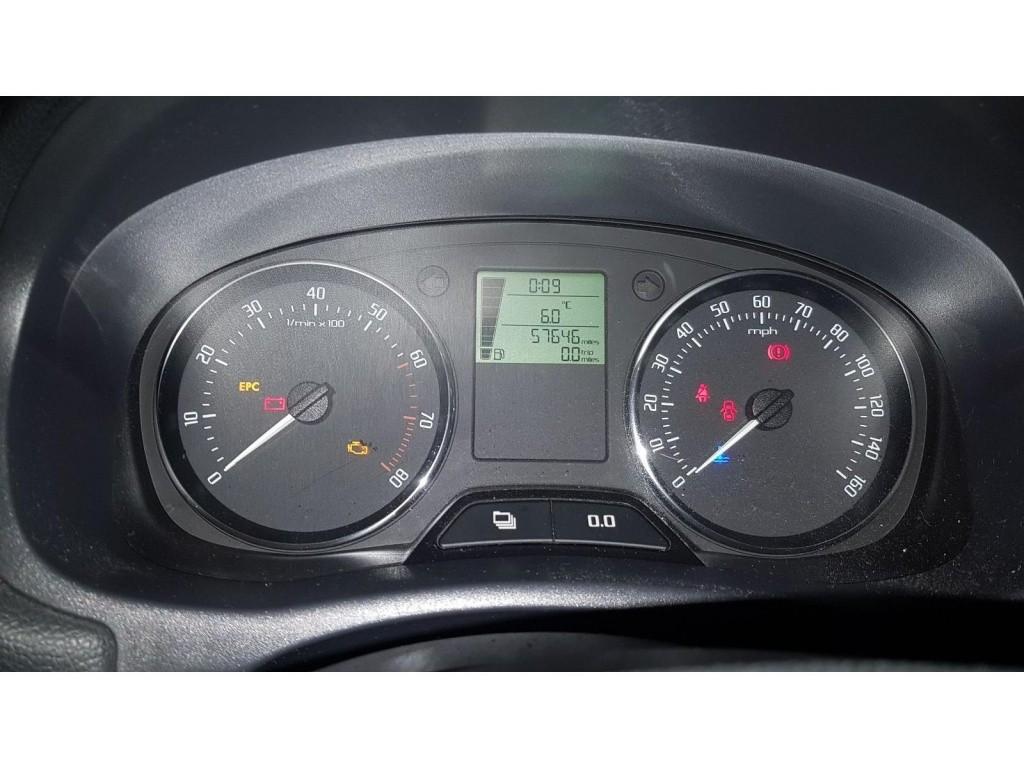 Etrier frana stanga fata Skoda Fabia II 2011 hatchback 1.2