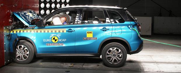 Euro NCAP a testat noile Renault Espace, Suzuki Vitara, Fiat 500X si Mazda 2