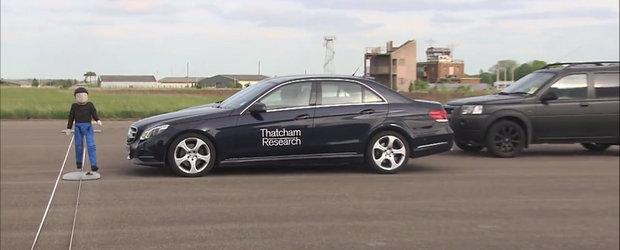 Euro NCAP pune la incercare franarea automata de pe diverse automobile