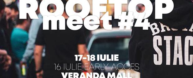 EuroCar Meeting #4, evenimentul pasionatilor de autoturisme modificate, are loc pe rooftop-ul Veranda Mall
