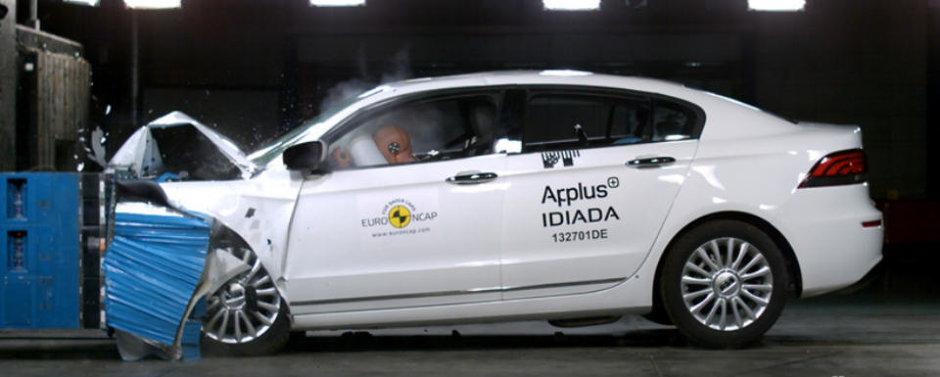 EuroNCAP: Cea mai sigura masina din 2013 e o masina chinezeasca!