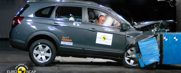 EuroNCAP: Cinci stele pentru Chevrolet Captiva si Aveo sedan