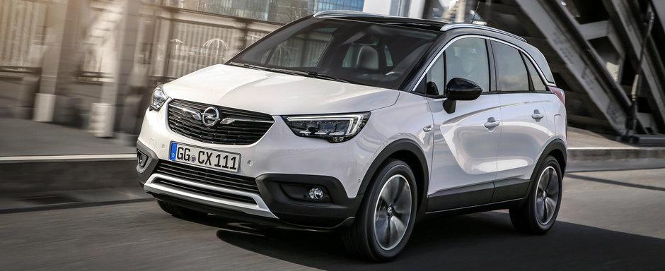 Europenii nu se mai satura de noul Opel Crossland X. Nemtii se lauda deja cu vanzari excelente