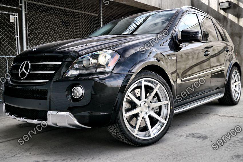 Evazari prelungiri aripi aripa Mercedes ML W164 M-Class AMG 2005-2011 v1