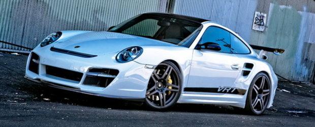 Evolutia continua: Vorsteiner prezinta noul Porsche 911 Turbo V-RT