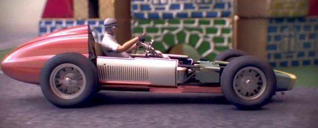 Evolutia masinilor de Formula 1, aratata printr-o animatie inteligenta