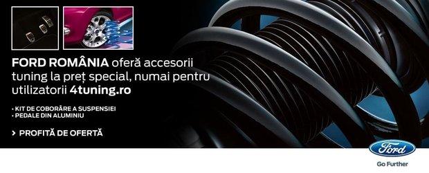 EXCLUSIV: accesorii Ford la un pret special pentru tine
