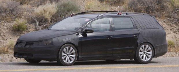 EXCLUSIV - Primele poze cu VW Passat 2011 varianta Break