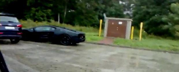 EXCLUSIV: Primul video spion cu noul Lamborghini Jota!