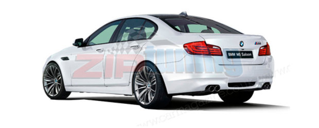 EXCLUSIV: Ziptuning duce noul BMW M5 in 698 cai putere!