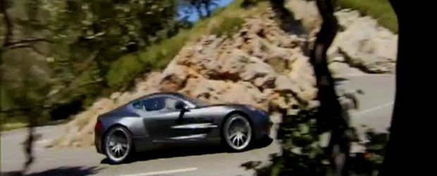 Exclusivistul Aston Martin One-77 face o vizita Frantei pitoresti - VIDEO