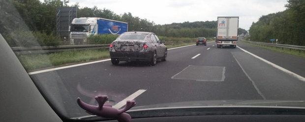 EXCLUSIVITATE! Cele mai noi poze cu BMW Seria 3 2012