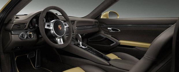 Exclusivitate la superlativ: Porsche 911 Turbo cu bunatati Porsche Exclusive