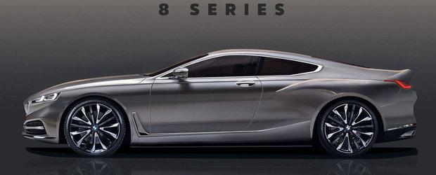 Exercitiu de imaginatie. Cam asa ar putea arata noul BMW Seria 8