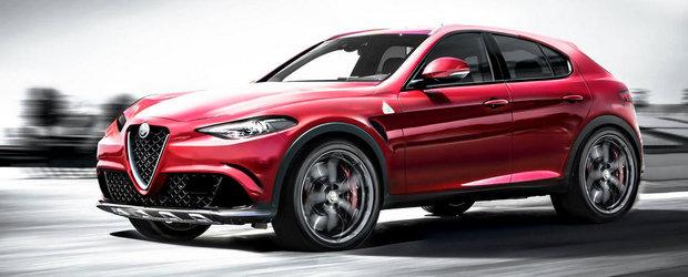 Exercitiu de imaginatie: Cum ar putea arata viitorul SUV de la Alfa Romeo