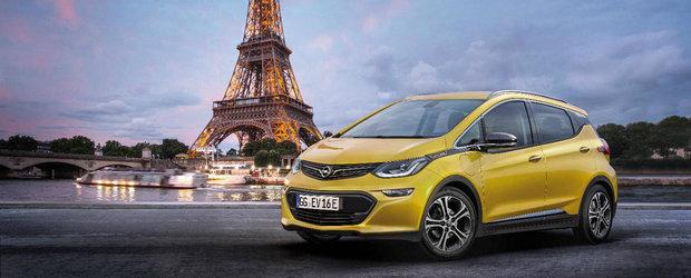 Exista un motiv serios pentru care Opel ne arata noul Ampera-e in compania Turnului Eiffel