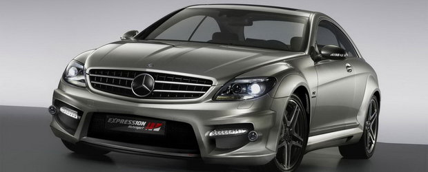 Expresia puterii: Mercedes CL65 AMG by Expression Motorsport
