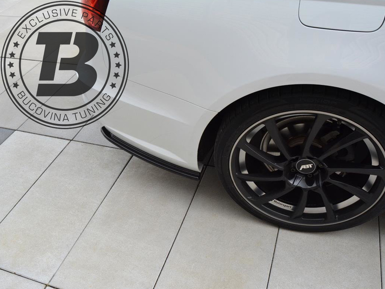 Extensii laterale bara spate splitter Audi S6 4G /A6 4G S line Facelift Avant (14-18) Maxton Design