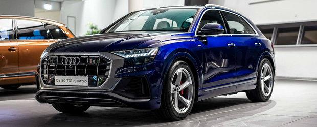 Exteriorul ca exteriorul, dar nu vrei sa ratezi pentru nimic in lume INTERIORUL acestui Audi Q8