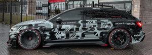 Exteriorul e nebunie curata, dar stai sa vezi cati cai are motorul V8. Sigur e cel mai tare Audi pe care l-ai vazut vreodata!