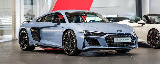 Exteriorul e nebunie curata, dar stai sa vezi cum arata interiorul acestui R8. Sigur e cel mai tare Audi pe care l-ai vazut vreodata!